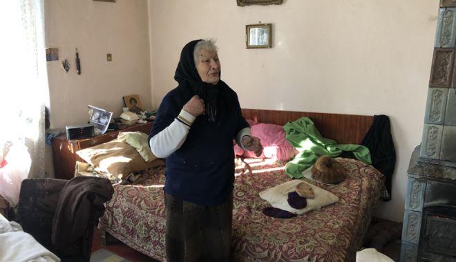 Foto: Bătrâneţe, haine grele! Abandonaţi, necăjiţi,  dar şi pericol pentru vecini