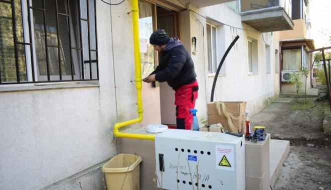 Foto: Racordarea la reţeaua de gaze: alternativă salvatoare sau ţeapă de zile mari?