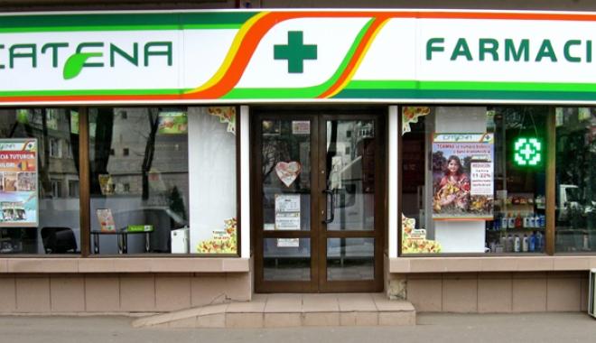 """Foto: Farmaciile Catena, acuzate de practici comerciale înşelătoare. Reacţia companiei: """"Este o campanie de defăimare"""""""