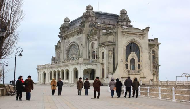 Foto: Galerie FOTO / Cum va arăta Cazinoul din Constanţa după reabilitare: vor fi cafenele şi sală de bal