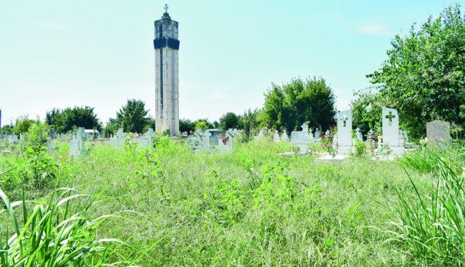 Foto: Cimitirul Eroilor din Constanţa, monument de indiferenţă şi lipsă de respect