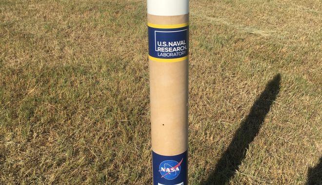 Tomis 5 - satelitul cât o doză de suc. Elevii Colegiului