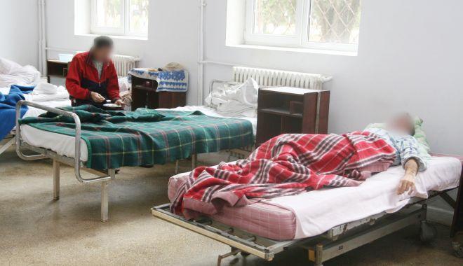 Foto: Controale în spitalele de psihiatrie. S-a lăsat cu amenzi și rapoarte la parchet