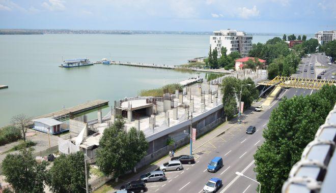 Foto: Noi afaceri imobiliare în Mamaia. Club nautic cu 8 etaje, pe malul Lacului Siutghiol