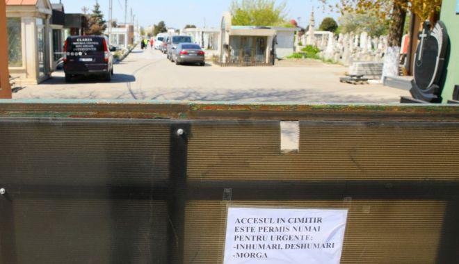 Paștele Blajinilor, cu cimitirele închise.