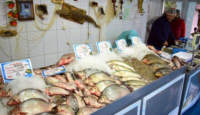 Foto: Dezlegare la peşte, în week-end! Mare atenţie de unde vă cumpăraţi produsele!