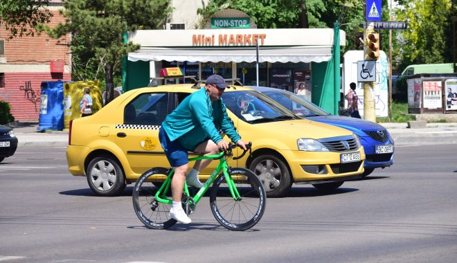 Foto: Sătui de vrăjeli! Constanţa, oraşul fără piste de biciclete