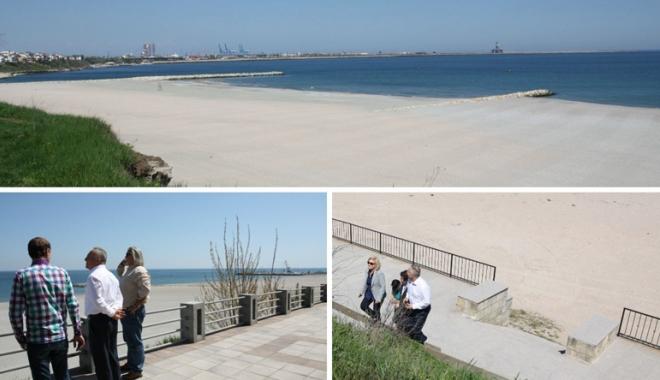 Foto: Învingători în bătălia cu marea! Cum vor arăta plajele litoralului românesc