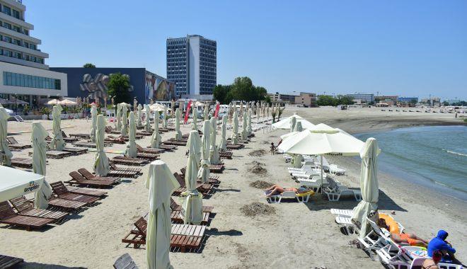 Foto: Plajele din Mamaia și Năvodari, verificate cu drona.