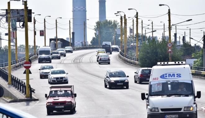 Foto: A început modernizarea podului de la Butelii. Cum se circulă în această perioadă