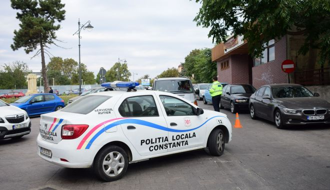 """Foto: """"Poliţia Locală nu face abuzuri. Nu ne-am făcut un scop din a-i persecuta pe constănţeni!"""""""
