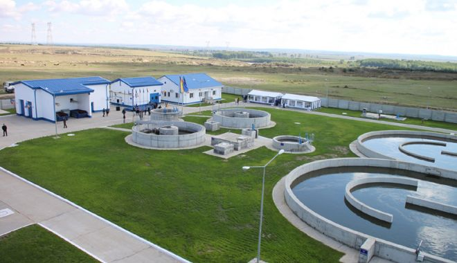 Foto: Investiţii de sute de milioane de euro în sistemele de apă şi canalizare din judeţul Constanţa
