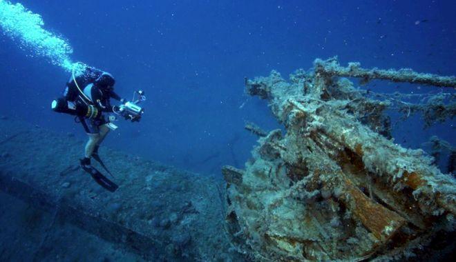 Foto: Turism subacvatic la Constanţa. Oaspeţii,  îmbiaţi să facă scufundări la navele din adâncurile Mării Negre
