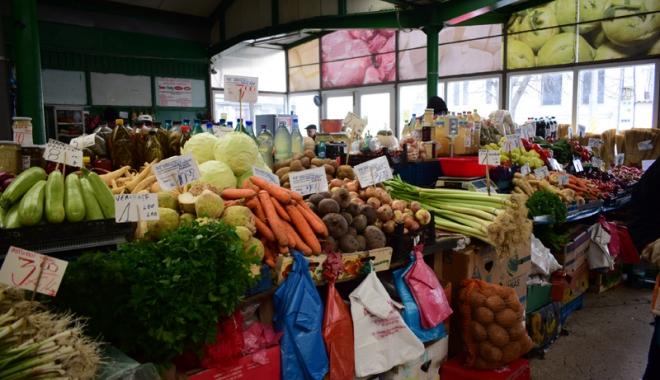 Jale în pieţe! Au explodat preţurile  la ouă, lapte, legume şi fructe