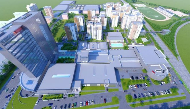 Foto: Afaceri imobiliare, la Constanța. Turnuri cu 20 de etaje, galerii comerciale și apartamente de lux