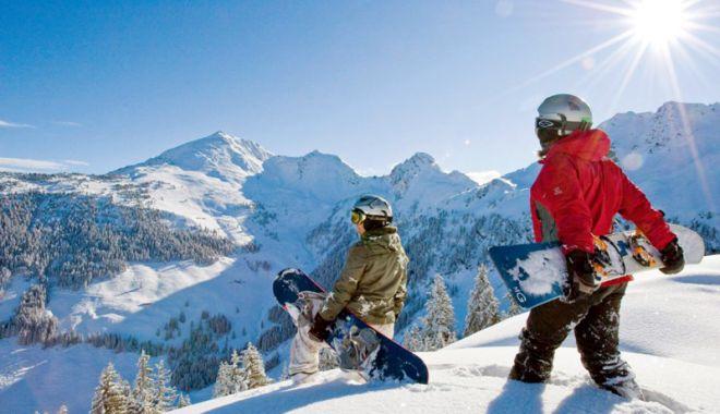 Foto: Constănţenii, mari amatori de schi. Care sunt destinaţiile preferate în vacanţa ce se apropie