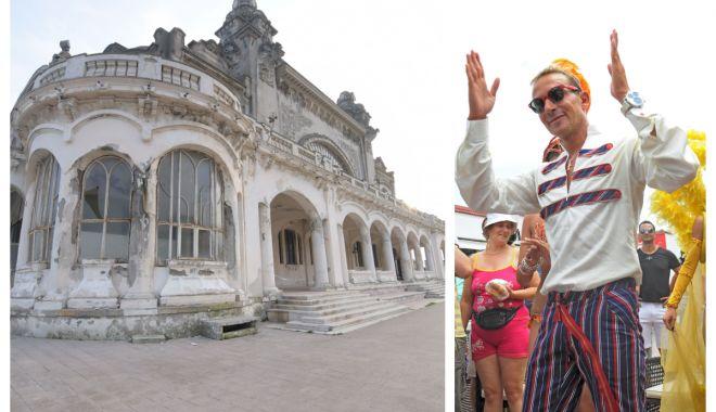 Foto: În caz că vă era dor de primarul-măscărici… Iată cum s-a lepădat Constanţa de Cazino