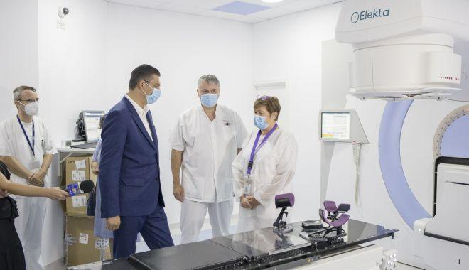 Foto: O şansă în plus pentru pacienţii cu cancer, din Constanţa. Radioterapia, din nou funcţională