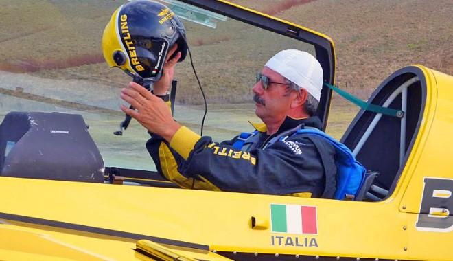 Foto: Francesco Fornabaio a murit după ce s-a prăbuşit cu avionul. Pilotul participase la AEROMANIA, în Constanţa
