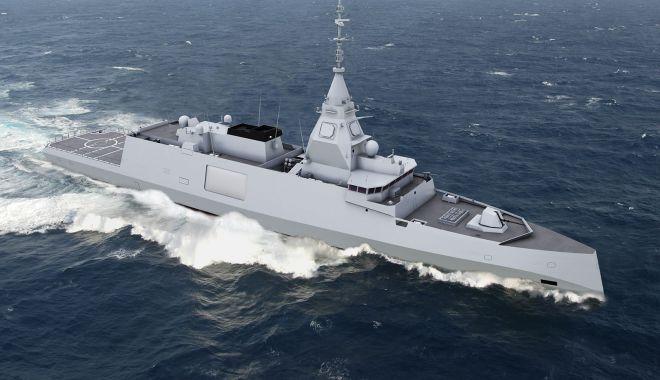 """Foto: Francezii de la Naval Group și Șantierul Naval Constanța au câștigat contractul """"Corveta multifuncțională"""""""