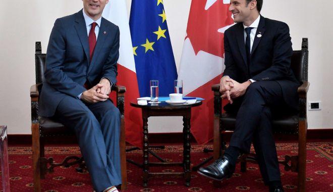Foto: Franţa şi Canada creează un consiliu comun de apărare
