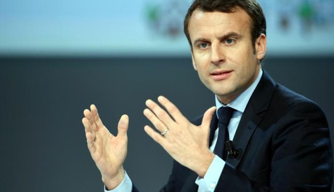 Foto: Franţa: Popularitatea preşedintelui Emmanuel Macron, în creştere
