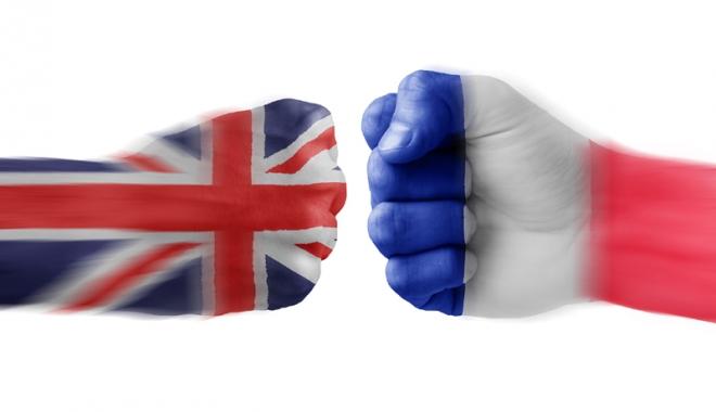 Foto: Mesajul Franţei către Marea Britanie, după Brexit: