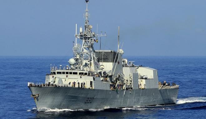 Foto: Fregata canadiană