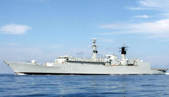 """Foto: Fregata """"Regina Maria"""" va participa la exerciţiul multinaţional Sea Shield 16"""