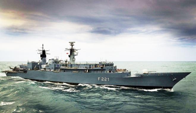 """Foto: Fregata """"Regele Ferdinand"""" şi-a încheiat misiunea NATO"""