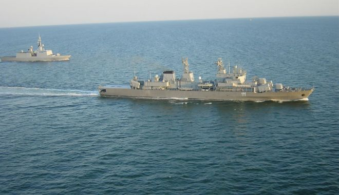 """Fregata Mărăşeşti, la """"antrenamente"""" cu distrugătorul american USS Laboon - fregata-1624542100.jpg"""