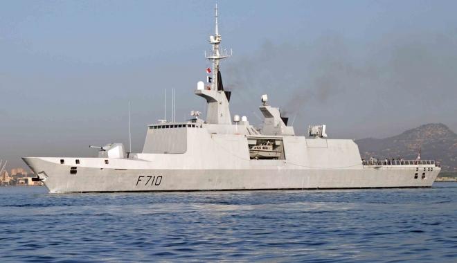 Foto: Fregata franceză La Fayette, escală în Portul Constanţa