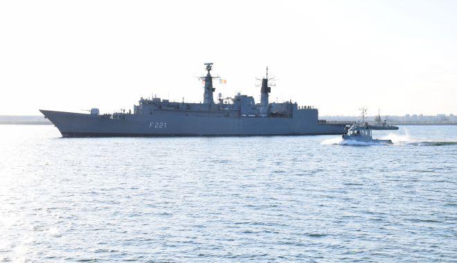 """Foto: Fregata """"Regele Ferdinand"""", în misiune în Marea Neagră"""