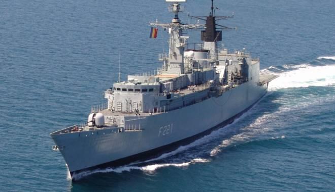 Foto: Fregata Regina Maria, misiune cu americanii în Marea Neagră