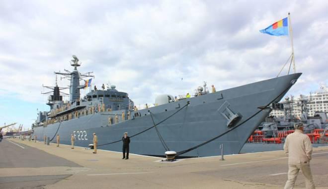 """Foto: Fregatele """"Regele Ferdinand"""" şi """"Regina Maria"""" vor fi dotate cu armament modern"""