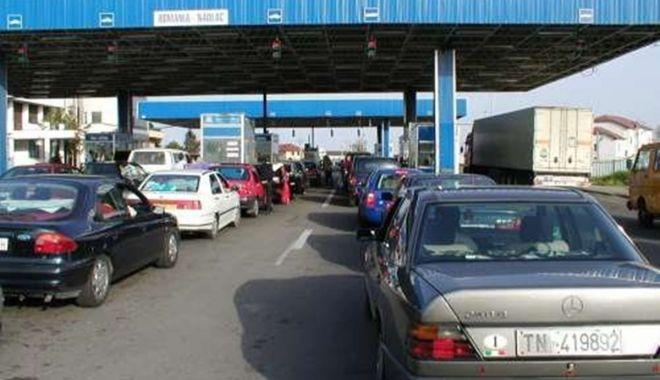 Foto: Trafic intens la frontiere, în ultimele 24 de ore
