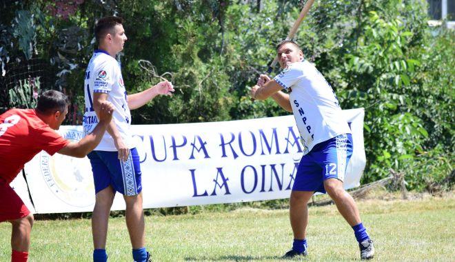 Foto: Frontiera Tomis, învinsă de Straja în finala Cupei Regelui la oină
