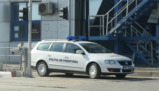 Foto: Opel Vectra cu ITP falsă, descoperit la Vama Veche