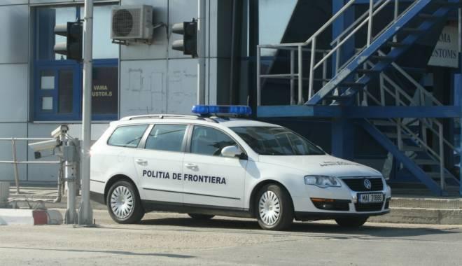 Foto: Volkswagen cu ITP falsă, descoperit în Vama Veche
