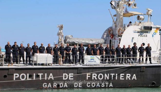 Foto: Frontierele Europei  din Marea Egee  vor fi asigurate  de o altă navă  a Gărzii de Coastă
