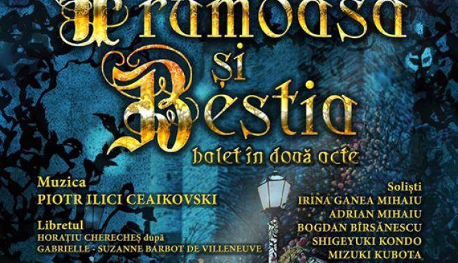 """Foto: """"Frumoasa şi bestia"""", în premieră, pe scena Teatrului """"Oleg Danovski"""""""