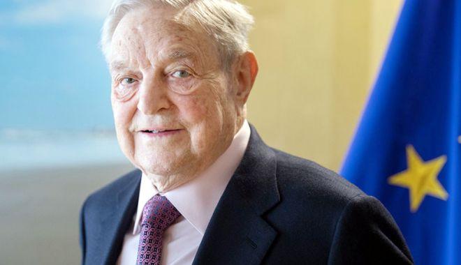 Foto: Fundaţia lui George Soros şi-a finalizat mutarea birourilor sale de la Budapesta la Berlin