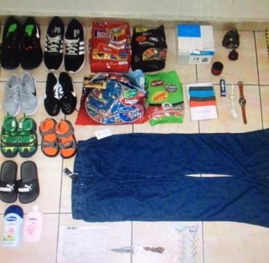 Foto: Oficiu poştal din Constanţa, prădat de hoţi! Suspecţii, prinşi de anchetatori