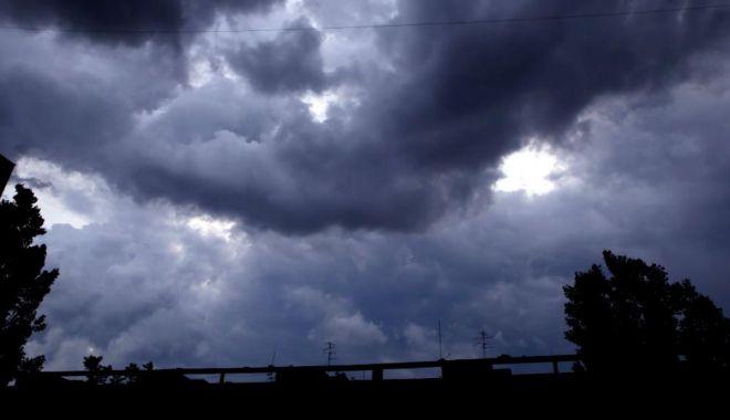 Foto: COD PORTOCALIU DE ploi abundente, la Constanţa! O nouă avertizare de vreme severă imediată