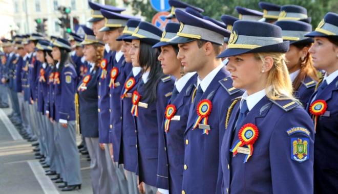 Foto: EMOŢII PENTRU CANDIDAŢII LA POSTURILE DIN POLIŢIE