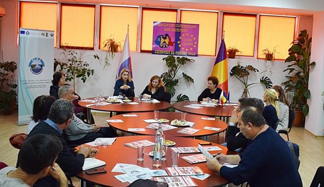 Foto: Asociaţia GAL, acţiune  de informare în comuna Cumpăna
