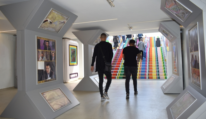 """Foto: O nouă expoziţie la Galeria de Artă """"Virgil Coman"""""""