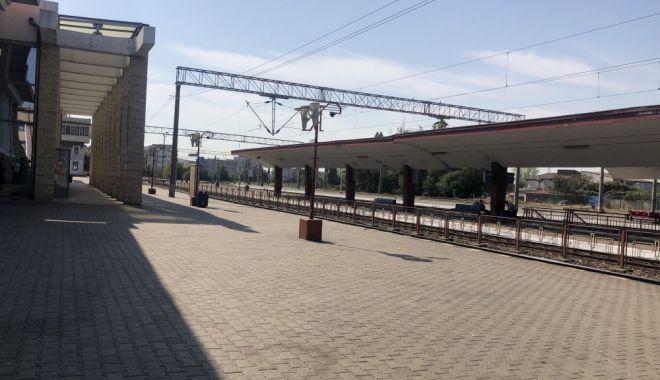 Foto: TRAGIC / Persoană, LOVITĂ DE TREN în gara Constanța