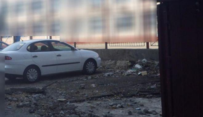 Foto: Continuă demolarea garajelor din Constanţa