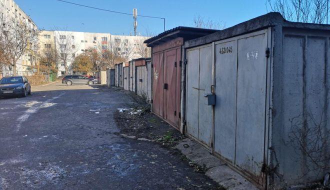 Foto: Locuri de parcare în locul garajelor! Poliţia Locală Constanţa, în acţiune